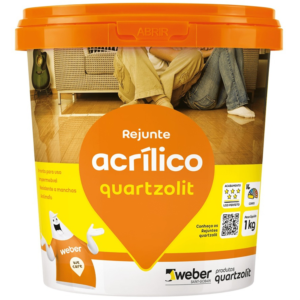 Quartzolit Rejunte Acrílico Preto Grafite 1 kg