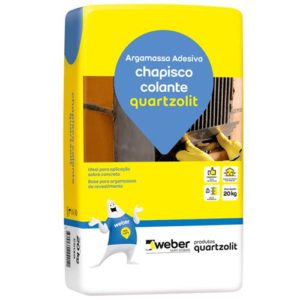 Quartzolit Chapisco Fix Colante SC 20 kg