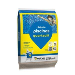 Rejunte Piscinas Quartzolit Azul Celeste SC 30 kg