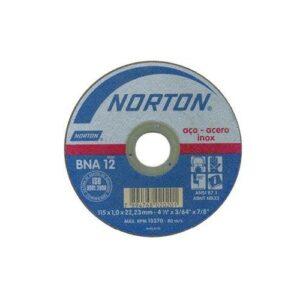 Norton Disco de Corte BNA 12 115×22.2