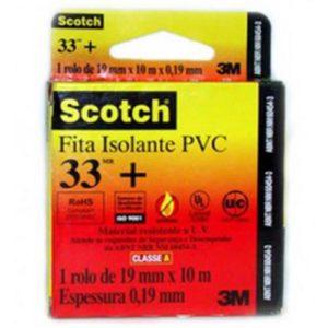 3M Fita Isolante Scotch 33+ 19mm x 10 m