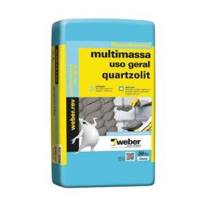 Quartzolit Multimassa Uso Geral SC 20 kg