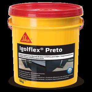 Sika Igolflex Preto BD 18 kg