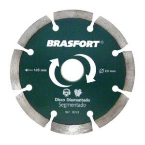 Brasfort Disco Diamantado Segmentado Seco