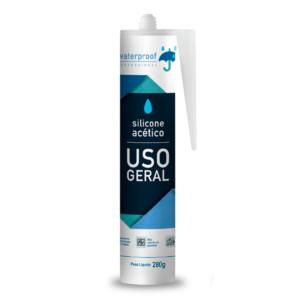Waterproof Silicone Acético Incolor