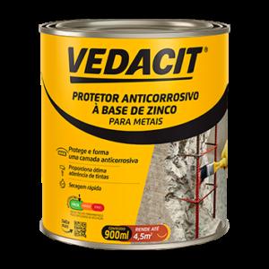 Protetor Anticorrosivo à base de Zinco Vedacit